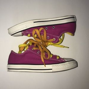 Converse unique pair- only worn once